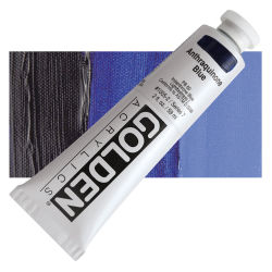 Golden Heavy Body Artist Acrylics - Anthraquinone Blue, 2 oz Tube