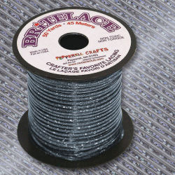 Rexlace Britelace - 50 yards, Silver Holographic