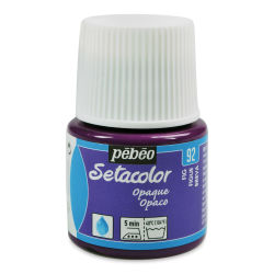 Pebeo Setacolor Fabric Paint - Fig, Opaque, 45 ml bottle