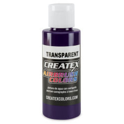 Createx Airbrush Color - 2 oz, Transparent Purple