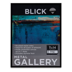 "Blick Metal Gallery Frame-Black, 11"" x 14"""