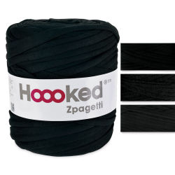 Hoooked Zapagetti Yarn - Black
