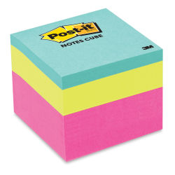 3M Post-it Super Sticky Notes - 2'' x 2'', Pink Wave