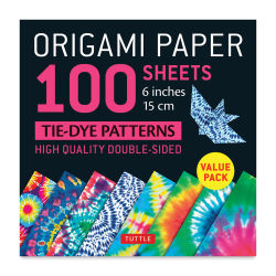 Tuttle Origami Pack Tie Dye Patterns