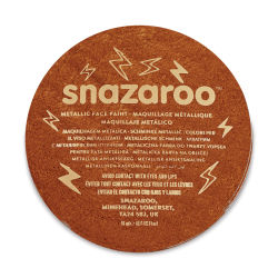 Snazaroo Face Paint - Copper, 18 ml container