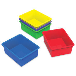 Storex Storage Trays, Pkg of 5 (Lids not included)