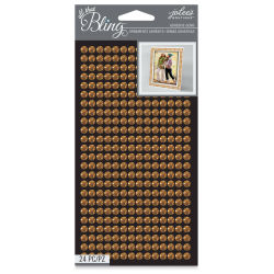 Jolee's Boutique All That Bling Gem Sheets - Gold