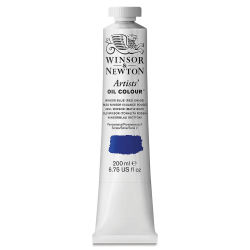 Winsor & Newton Artists' Oil Color - Winsor Blue (Red Shade), 200 ml tube