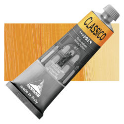 Maimeri Classico Oil Color - Indian Yellow, 60 ml tube