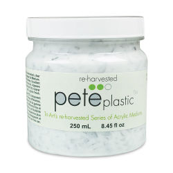 Tri-Art Re-Harvested Acrylic Medium - PETE Plastic, 250 ml