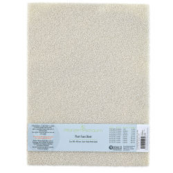 "Schulcz Scale Model Plant Foam - White, Pkg of 2, Medium, 4 mm, 11-3/4"" x 15-3/4"" (front of package)"