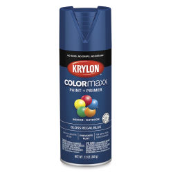 Krylon Colormaxx Spray Paint - Regal Blue, Gloss, 12 oz