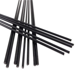 Glass Replacement Rods - Pkg of 12, Black