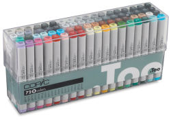 Original Markers, Set B of 72 Colors, Flesh Tones