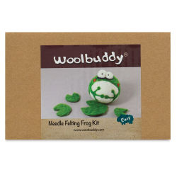 Woolbuddy Needle Felting Kit - Frog Kit