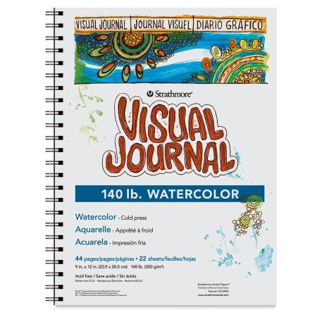 Strathmore Visual Journal - 12'' x 9'', 140 lb, Watercolor