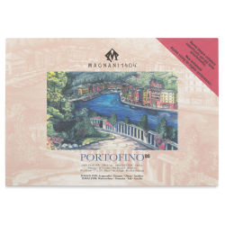 Acquerello Portofino Watercolor Pad - 7'' x 10'', 140 lb, Hot Press, 20 Sheets