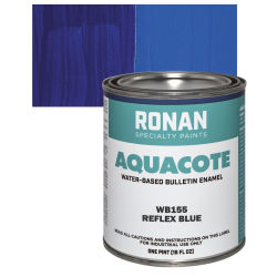 Ronan Aquacote Water-Based Acrylic Color - Reflex Blue, Pint