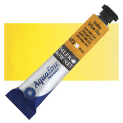 Daler-Rowney Aquafine Watercolors and Sets - Indian Yellow Hue, 8 ml, Tube