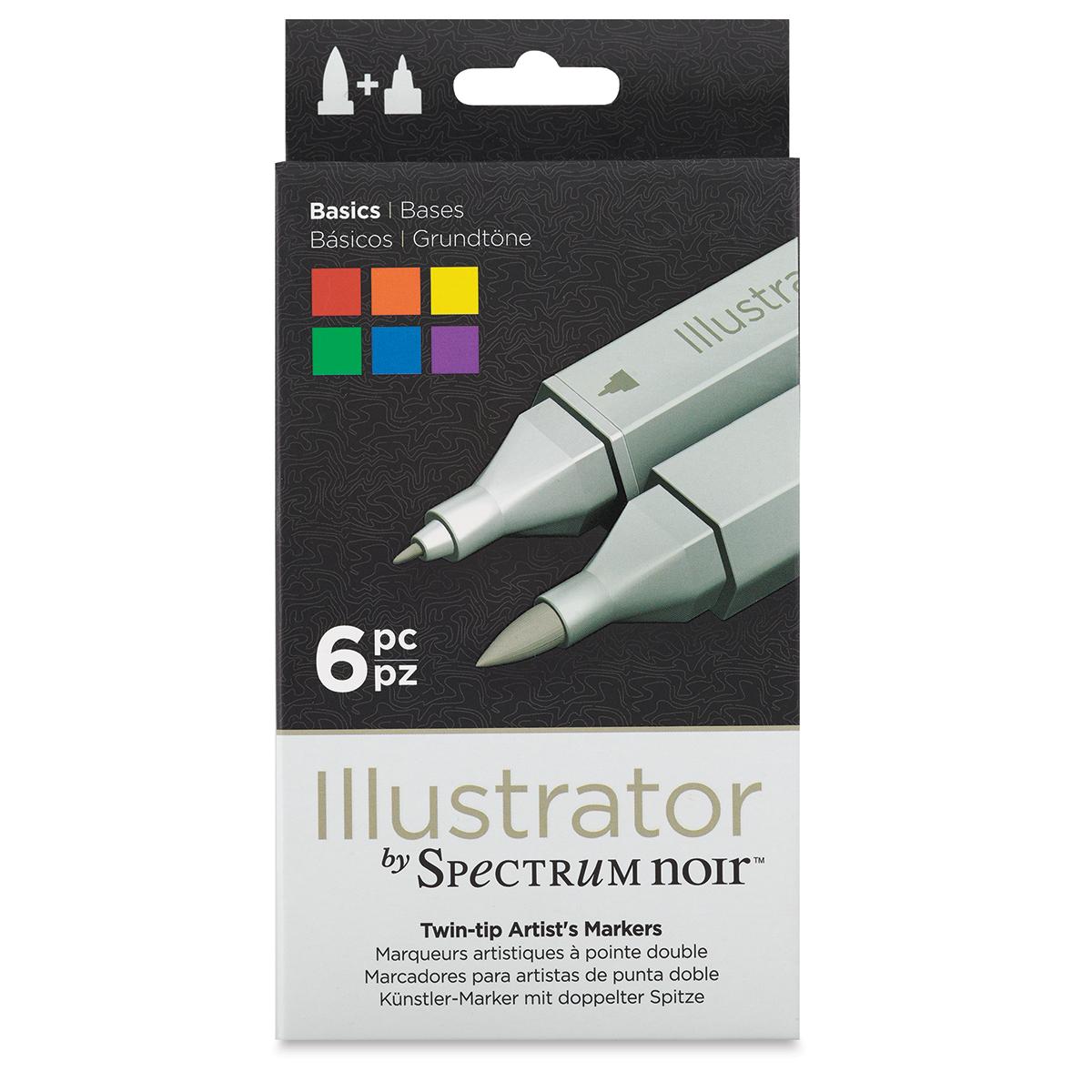 Spectrum Noir Illustrator Marker Sets