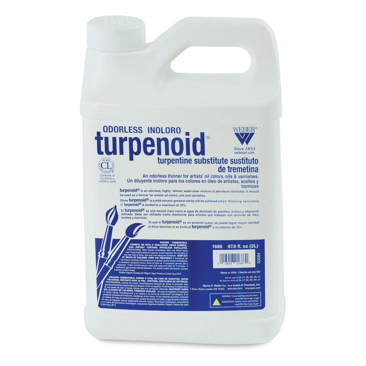 Weber Turpenoid - 2 Liter Plastic Bottle