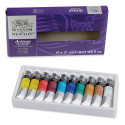 Winsor & Newton Artisan Water Mixable Oil Paint - Set of 10 Colors, 0.7 oz tubes