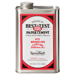 Best-Test Paper Cement - Quart, Acid-Free