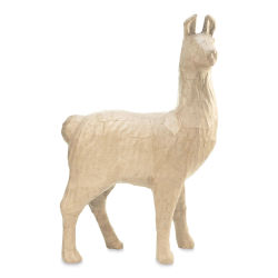 DecoPatch Large Paper Mache Animal - Llama