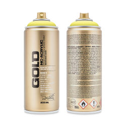 Montana Gold Acrylic Professional Spray Paint - Butta, 400 ml can