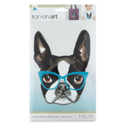 Momenta Iron-On Art - Four Color Studious Pup