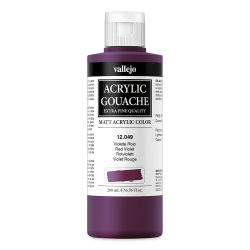 Vallejo Acrylic Gouache - Red Violet, 200 ml