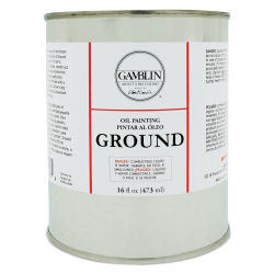 Gamblin Painting Ground - 16 oz can