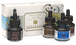 Sennelier Shellac Ink - Set of 4