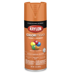 Krylon Colormaxx Spray Paint - Pumpkin Orange, Gloss, 12 oz
