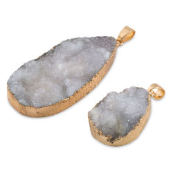 John Bead Earth's Jewels Semi-Precious Pendants