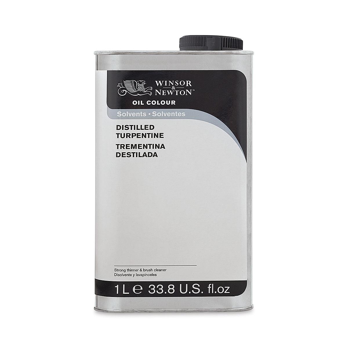 Winsor & Newton Distilled Turpentine - 1 L bottle