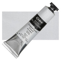 Cranfield Artists' Oils - Titanium White (Linseed), 40 ml, Tube