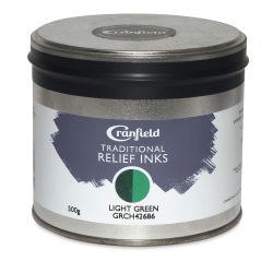Cranfield Traditional Relief Ink - Light Green 500 g