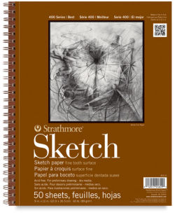Sketch Pad, 50 Sheets  Front of Pad