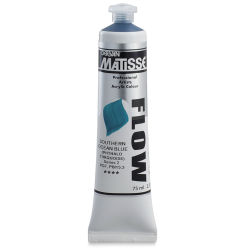Matisse Flow Acrylic Southern Ocean Blue, 75 ml