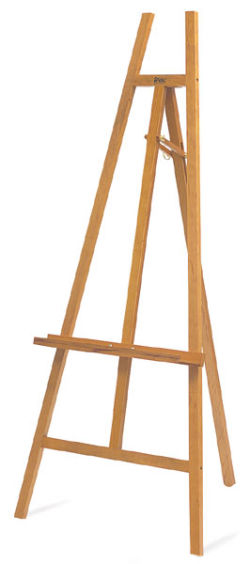Natural Finish Display Easel