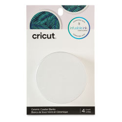 Cricut Infusible Ink Coaster Blanks - Round, Set of 4
