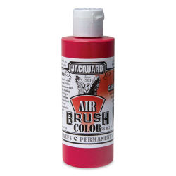 Jacquard Airbrush Paint - 4 oz, Iridescent Candy Apple Red