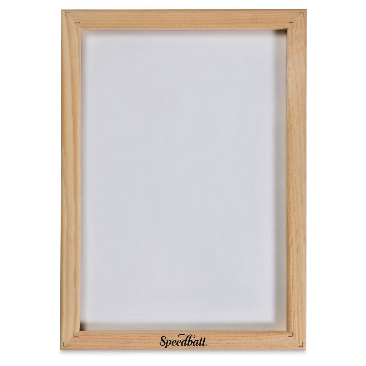 Speedball Screenprinting Frame - 110 Monofilament - 10 x 14