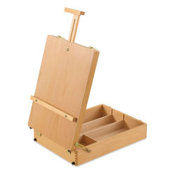 Blick Studio Sketch Box Easel - Natural Birch Wood