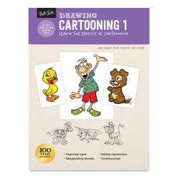 Drawing: Cartooning 1, Book Cover