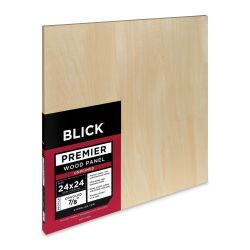 Blick Premier Wood Panel - 24'' x 24'', 7/8'' Traditional Profile, Cradled