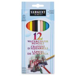 Watercolor Pencils, Set of 12