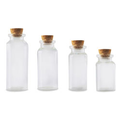 Craft Medley Glass Containers - Set of 4
