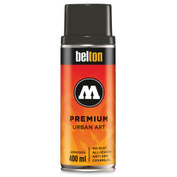 Molotow Belton Spray Paint - 400 ml Can, Tar Black